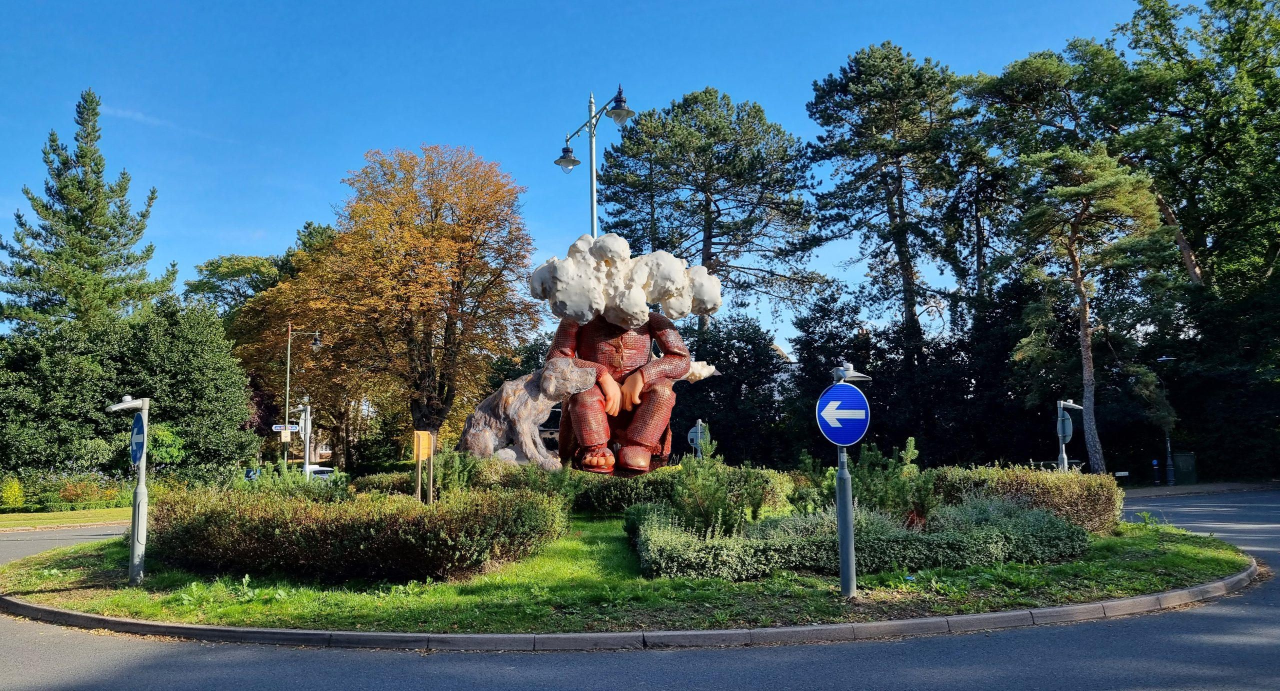 First roundabout in England - Letchworth
